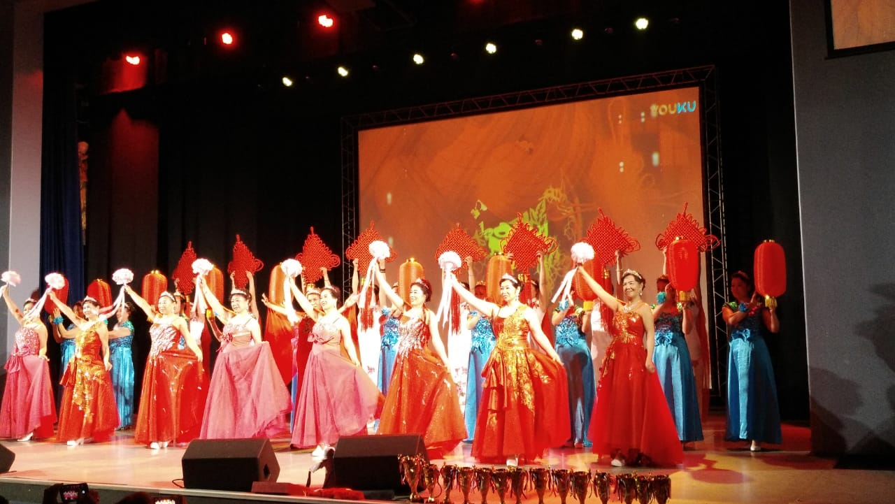 """Shmakovskaya"" at the Sino-Russian Festival, VSUES"