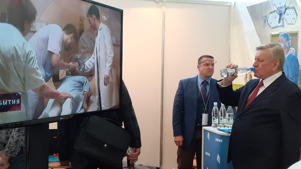 Шмаковская на выставке MedHealth Expo 2019