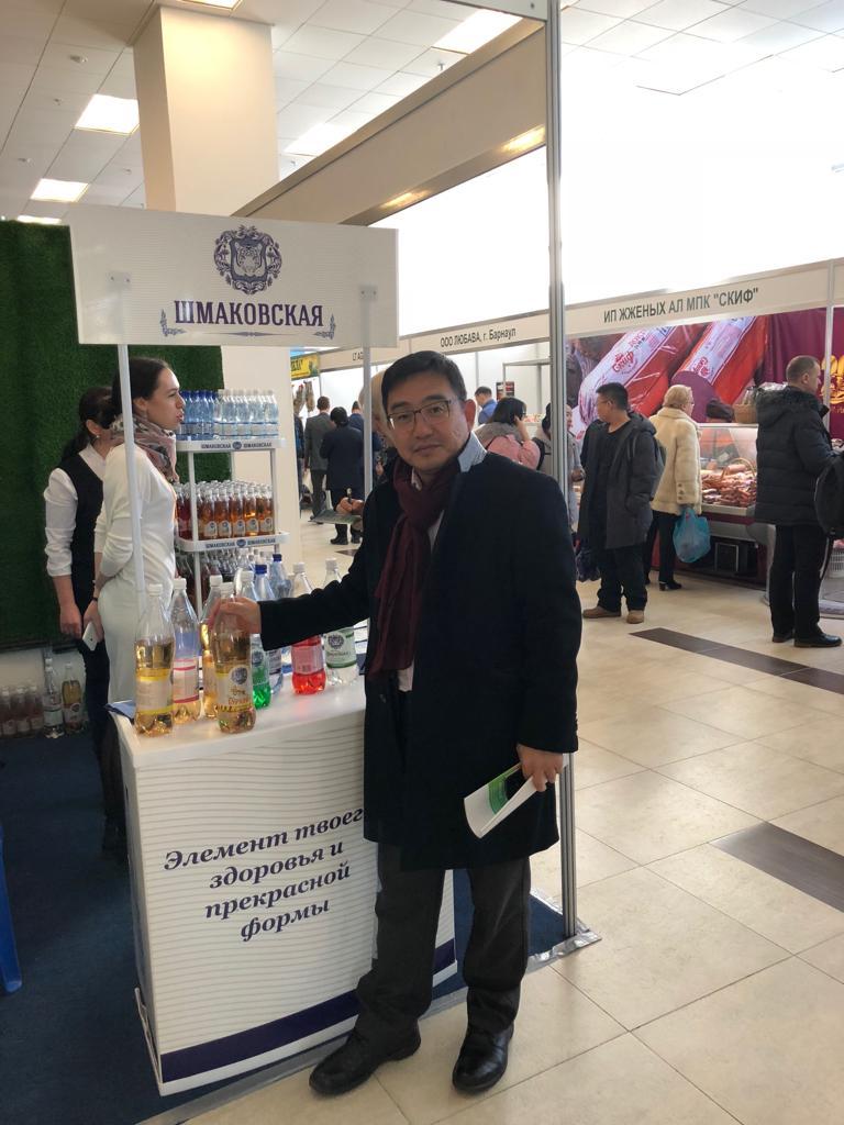 """什马科夫弗斯卡亚公司——""""远东农业。食物""""(2018年)展览"""